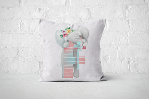 Pretty Letters Pillow Cover - F - But Why Not