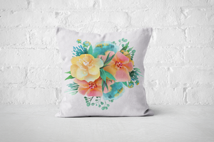 Pretty Letters Pillow Cover - Floral 5 - But Why Not