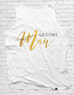 Groomsman | Unisex Vest - But Why Not
