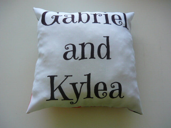 A4 Square Pillow - Custom - But Why Not
