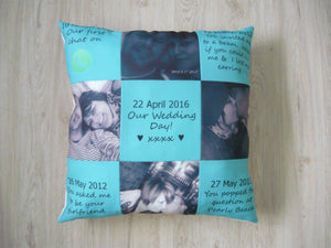 50x50cm Pillow - Custom - But Why Not