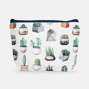 Cacti Party Pattern 10 | Cosmetic Bag - But Why Not