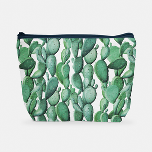 Cacti Party Pattern 12 | Cosmetic Bag