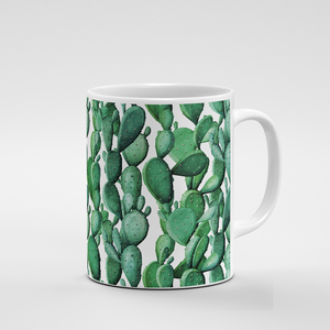 Cacti Party Pattern 12 | Mug - But Why Not