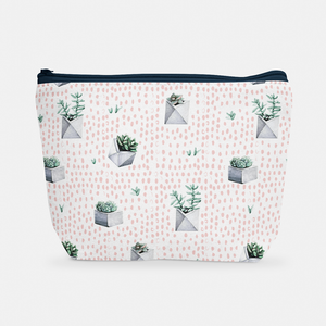 Cacti Party Pattern 1 | Cosmetic Bag - But Why Not