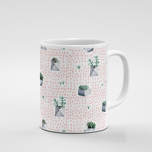 Cacti Party Pattern 1 | Mug - But Why Not
