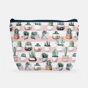 Cacti Party Pattern 3 | Cosmetic Bag - But Why Not
