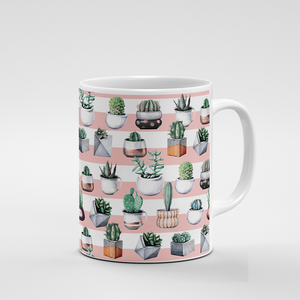 Cacti Party Pattern 3 | Mug - But Why Not