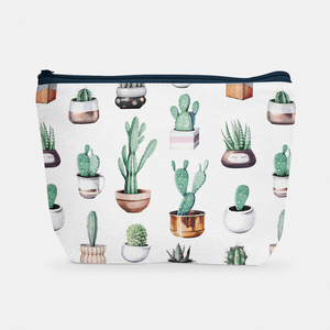 Cacti Party Pattern 4 | Cosmetic Bag - But Why Not