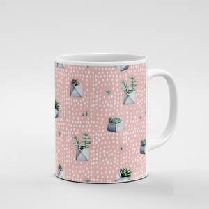 Cacti Party Pattern 5 | Mug - But Why Not