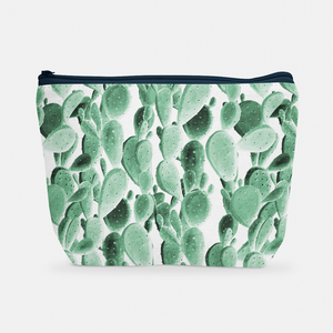 Cacti Party Pattern 6 | Cosmetic Bag - But Why Not