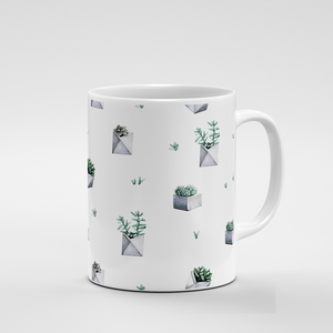 Cacti Party Pattern 7 | Mug - But Why Not