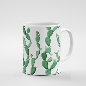 Cacti Party Pattern 8 | Mug - But Why Not