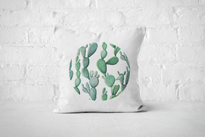 Cacti Party Pattern 11 | Pillow Cover