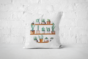 Cacti Party Pattern 13 | Pillow Cover