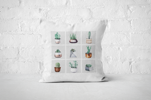 Cacti Party Pattern 2 | Pillow Cover