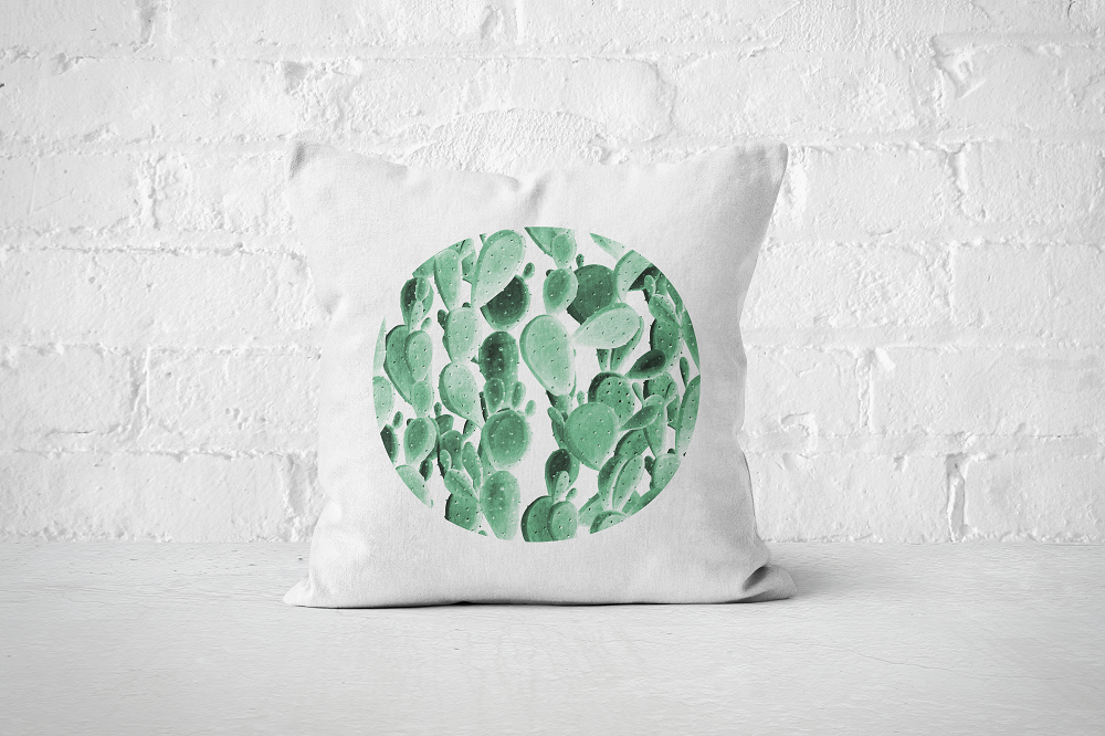 Cacti Party Pattern 6 | Pillow Cover