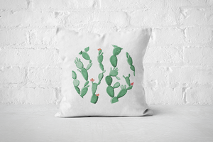 Cacti Party Pattern 8 | Pillow Cover - But Why Not