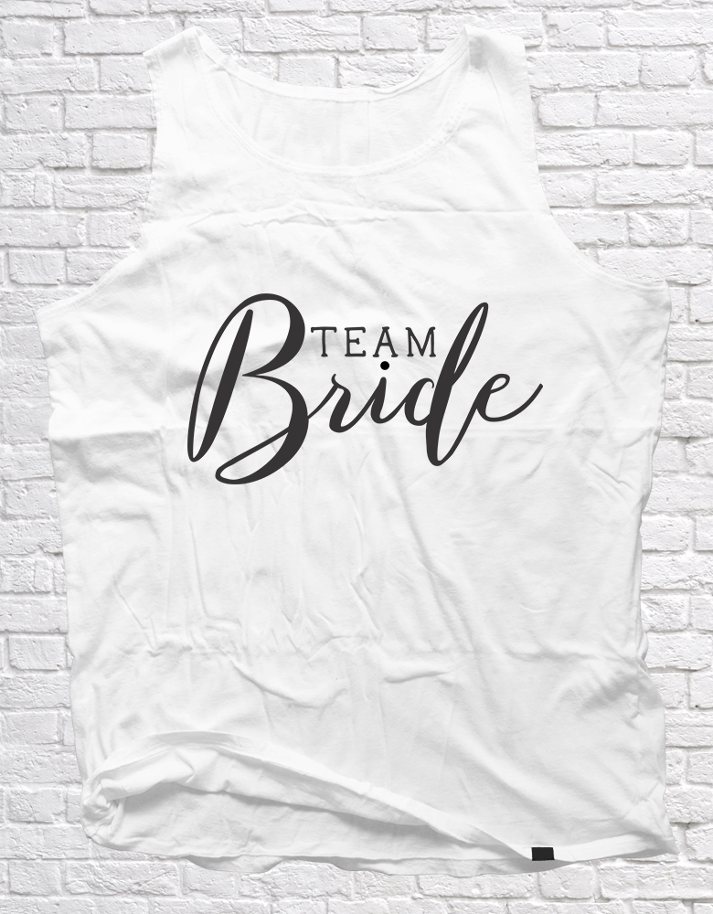 Team Bride | Unisex Vest - But Why Not