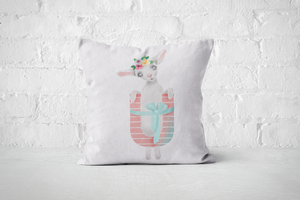 Pretty Letters Pillow Cover - U - But Why Not
