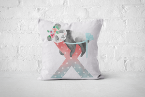 Pretty Letters Pillow Cover - X - But Why Not