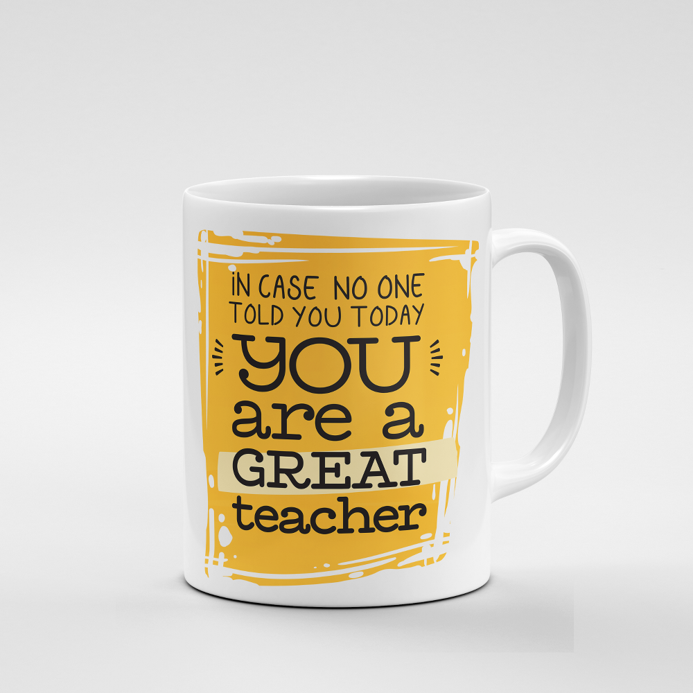 Great Teacher | Mug - But Why Not
