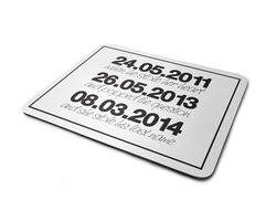 Wedding Dates | Mousepad - But Why Not