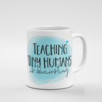 Tiny Humans | Mug - But Why Not
