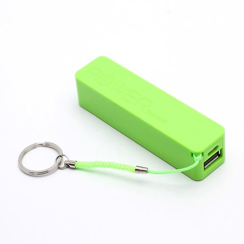 PowerBank - Batterie Externe Stick Power Bank 2600mAh 1xUSB 1.0A Verte