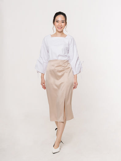 Alia Cream Skirt