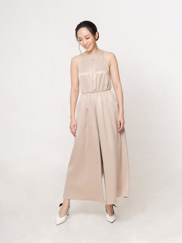 Ashley Jumpsuit Cream