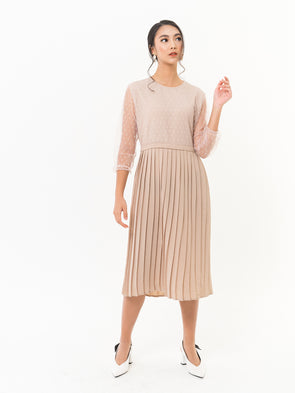 Becca Pleated Dress