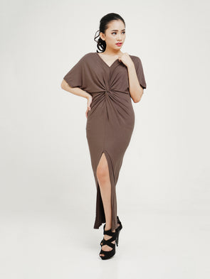 Breuna Dress - Brown