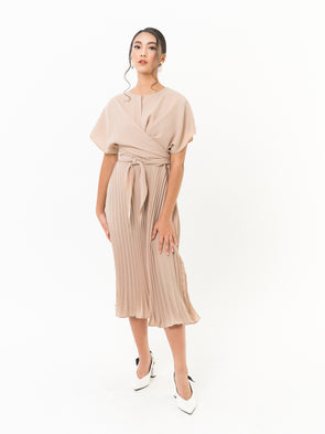 Carol Pleated Dress