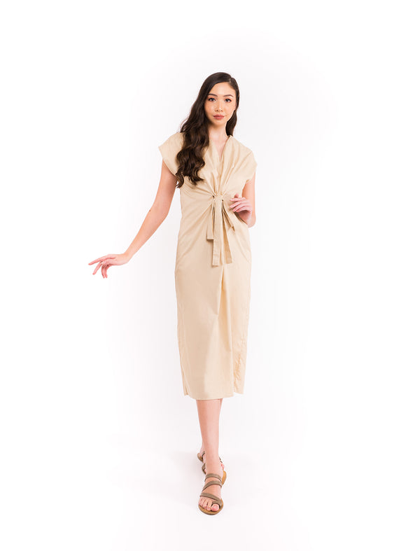 Cheesa Dress - Almond