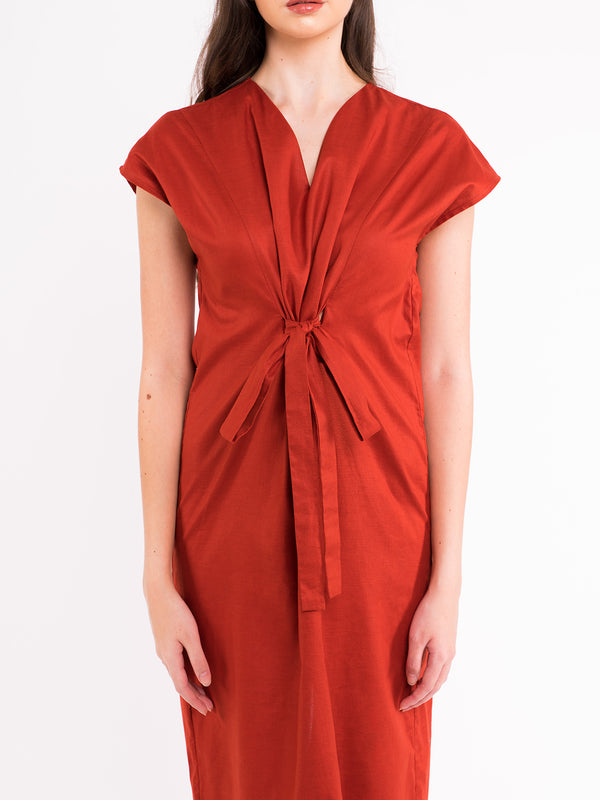 Cheesa Dress - Flame Scarlet