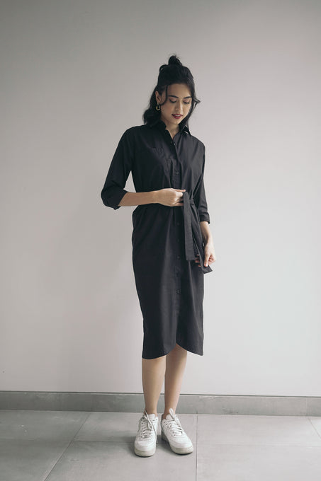Chiara Dress Black