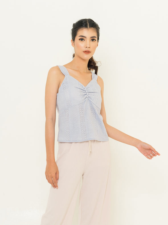 Chloe Top - Blue