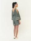 Corvina Jumpsuit - GREEN