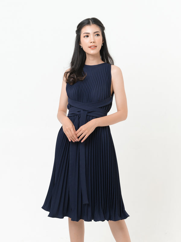 Danis Three-way Dress in NAVY