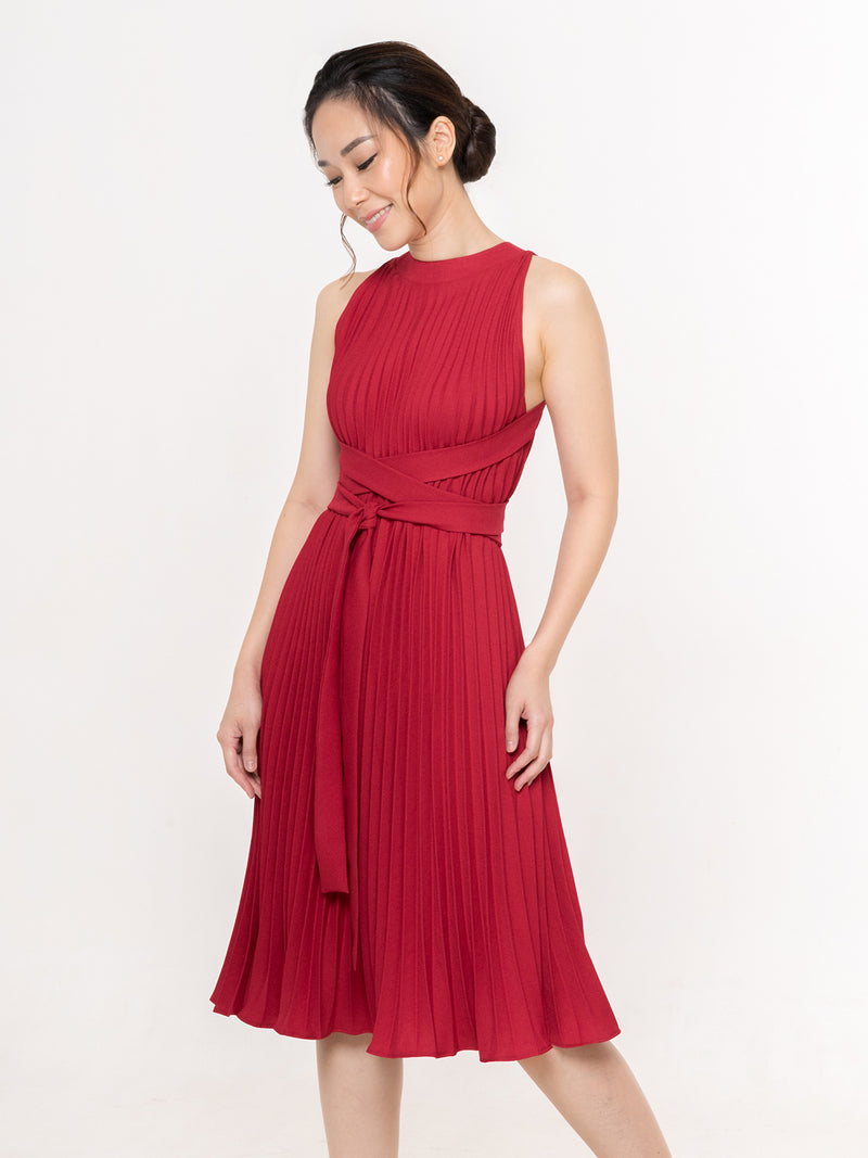 Danis Three-way Dress in RED
