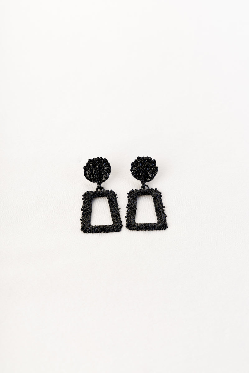 Ellie Earrings Black