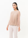 Elyora Pleated Top