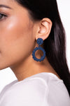 Esme Earrings Navy