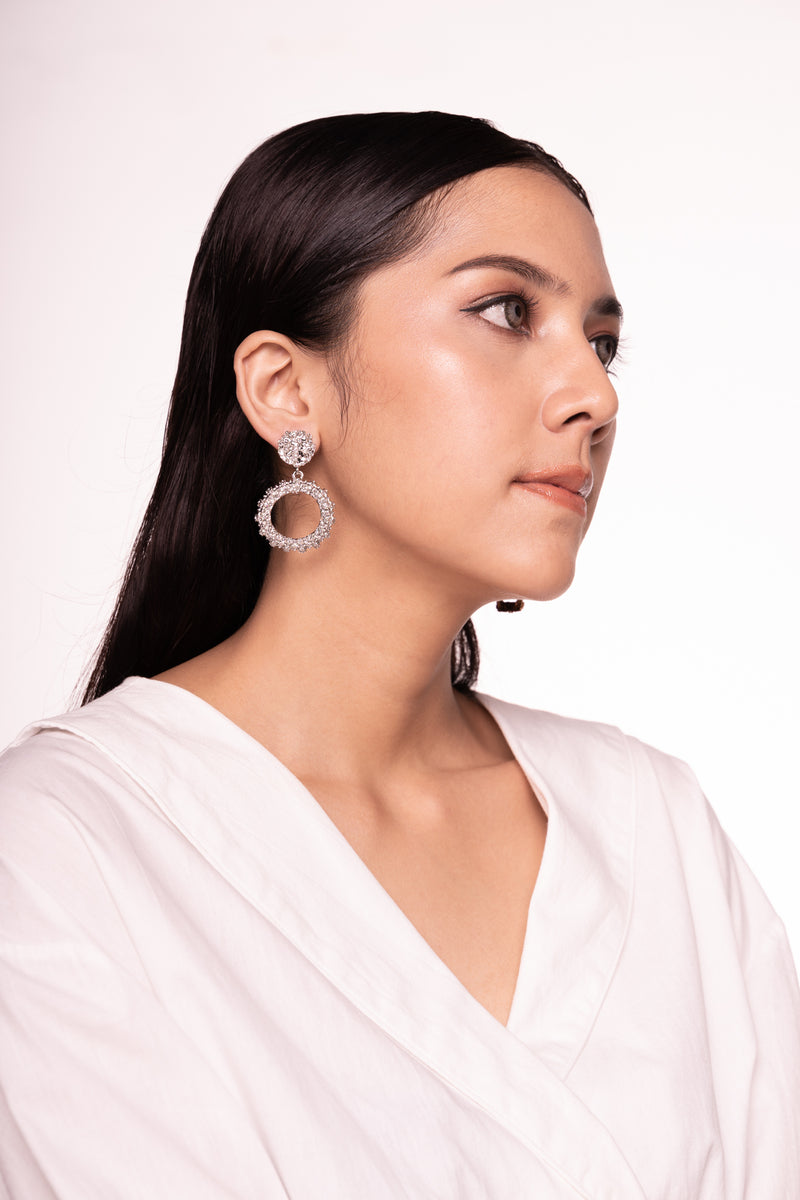 Esme Earrings Silver