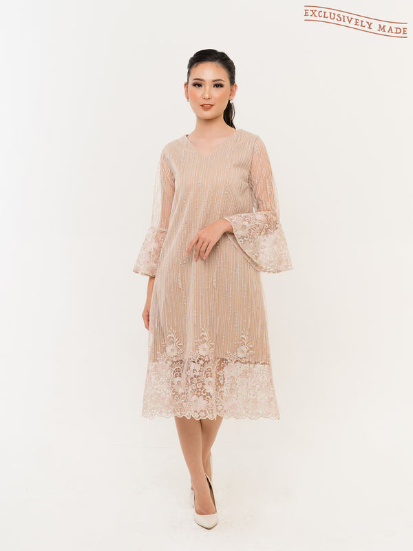 Hartley Embroidered Dress