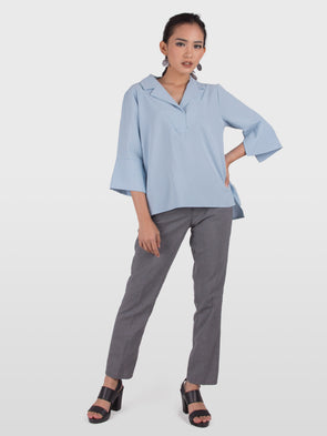 Yara Top - Light Blue