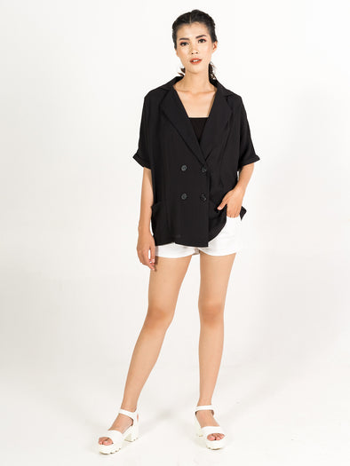 Kimaya Top - Black