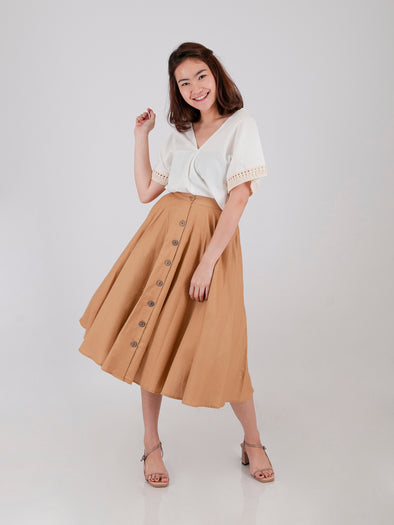 Kirani Skirt - Brown