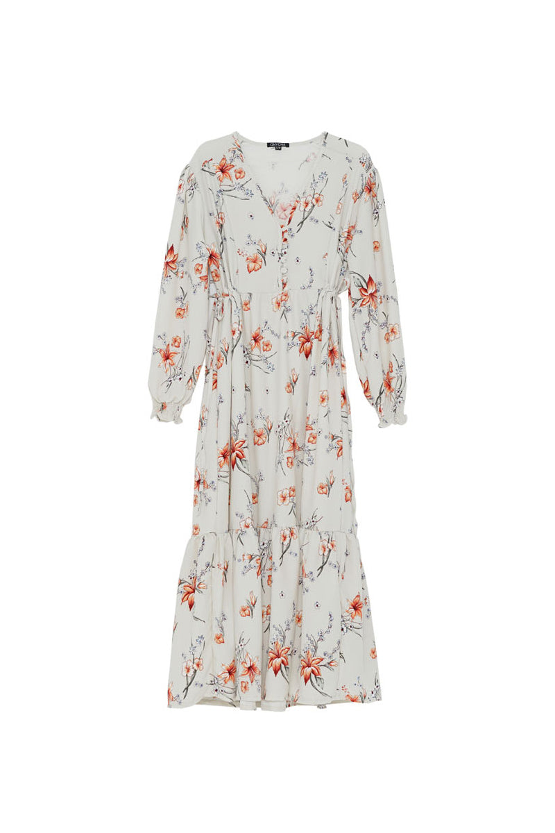 Linden Maxi Dress - Porceline Cream